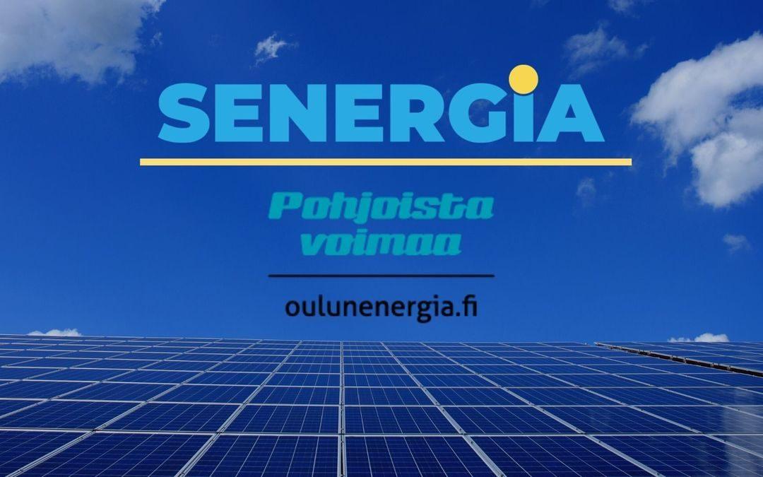 Senergia toimittaa 9,2 MW aurinkopaneeleja Oulun Energialle