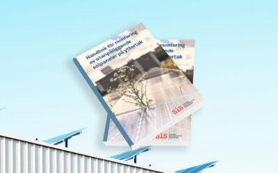 Ny handbok om infästning av solpaneler på yttertak!